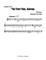 The First Noel Swings – Bb Clarinet 2 part