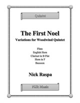 The First Noel (Variations for Woodwind Quintet) – Score & parts