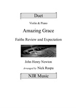 Amazing Grace - Violin and Piano