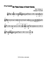 We Three Kings of Orient Swing (easy woodwind quartet) Bb Clarinet part