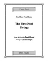 The First Noel Swings (1 piano 4 hands) early intermediate