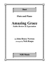 Amazing Grace (Flute & Piano) intermediate