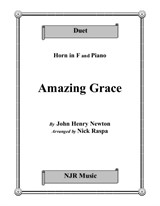 Amazing Grace (Horn and Piano)
