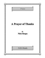 A Prayer of Thanks (intermediate piano)